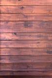 Stara drewniana ciemnego brązu ściana zdjęcia royalty free