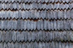 Stara drewniana dachowa tekstura Zdjęcie Royalty Free