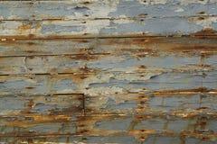 Stara Drewniana deska statek Fotografia Stock