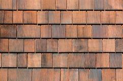 Stara drewniana gont ściana gonty texture drewnianego zdjęcie stock
