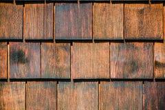 Stara drewniana gont ściana gonty texture drewnianego obrazy royalty free