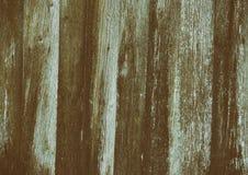 Stara drewniana płotowa tła pęknięcia linia Zdjęcia Stock
