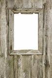 Stara drewniana rama obraz stock