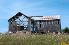 Stara Drewniana stajnia zdjęcia stock
