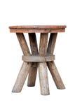 Stara drewniana stolec Obrazy Stock