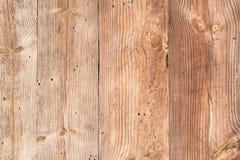 Stara drewniana tekstura z naturalnymi wzorami Obraz Stock