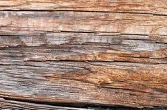 Stara drewniana tekstura z naturalnymi wzorami Wśrodku drzewnego tła Stara grungy i wietrzejąca popielata drewniana ściana zaszal Obrazy Royalty Free