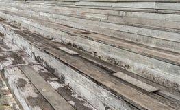 Stara drewniana trybuna Obraz Royalty Free