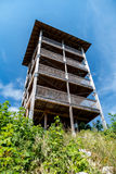 Stara drewniana wieża obserwacyjna Obrazy Stock