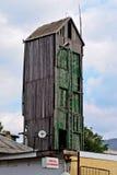 Stara drewniana wieża obserwacyjna Zdjęcia Royalty Free