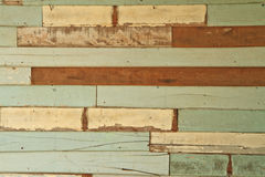 Stara drewno ściana Zdjęcia Stock
