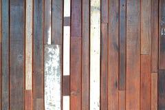 Stara drewno ściana obrazy royalty free