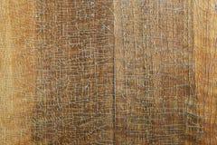 Stara drewno deska z krakingową laką Obraz Royalty Free