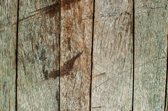 Stara drewno powierzchnia jasna Obraz Stock