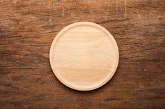 Stara drewno powierzchnia jasna Fotografia Stock