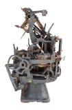 Stara drukowa prasa Obrazy Stock