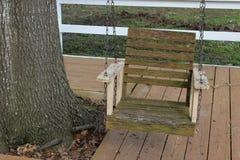 Stara drzewo huśtawka Zdjęcie Stock