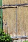 stara drzwi pęknięcia farba zdjęcia royalty free
