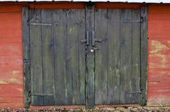 stara drzwi para Zdjęcia Stock