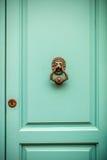 Stara drzwiowa fasada Zdjęcie Royalty Free