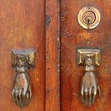 Stara drzwiowa rękojeść Obrazy Stock