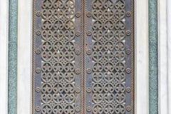 Stara drzwiowa tekstura Zdjęcia Stock