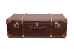 Stara duża walizka Zdjęcie Royalty Free