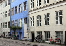 Stara Duńska Ulica Zdjęcia Stock