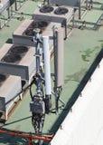 Stara duża telekomunikacyjna antena satelitarna Obrazy Royalty Free