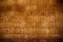 stara egipcjanin ściana zdjęcia royalty free