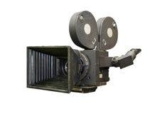 Stara ekranowa film kamera Fotografia Stock