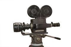 Stara ekranowa film kamera Zdjęcia Stock