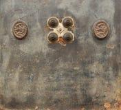 Stara żelazna skrytka Zdjęcie Stock