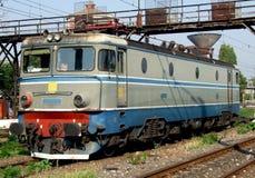 Stara elektryczna lokomotywa Zdjęcia Royalty Free