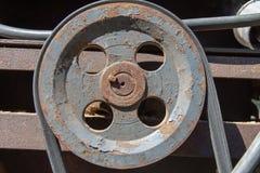 Stara elektryczna maszyna obraz stock