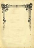 stara elememts papierowa dekoracyjnych konsystencja Zdjęcia Stock