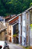 Stara Europejska wioska Zdjęcia Royalty Free