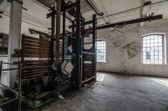 stara fabryczna sala obraz stock