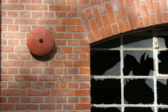stara fabryka budynek. zdjęcia stock