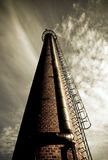 stara fabryka kominowy Obrazy Royalty Free