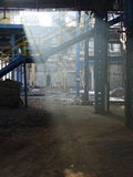 Stara fabryka, straszny miejsce Obraz Royalty Free