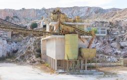 Stara fabryka w Grecja Fotografia Royalty Free