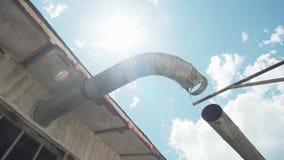 Stara fabryki drymba zdjęcie wideo