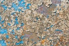 Stara farby tekstura Zdjęcia Stock