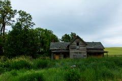 Stara farma W Krańcowym Wschodnim stan washington zdjęcie royalty free