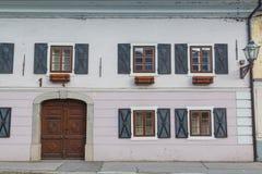 stara fasada Obrazy Royalty Free