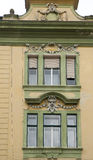 Stara fasada w Sibiu Rumunia Obrazy Royalty Free