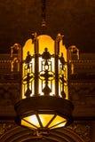 stara fasonująca lampa Obrazy Stock