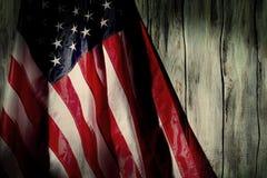 Stara flaga Stany Zjednoczone Zdjęcie Stock