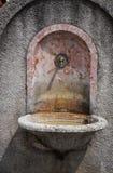 stara fontanna Zdjęcia Royalty Free